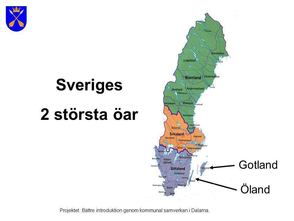 Sveriges 2 största öar Gotland Öland