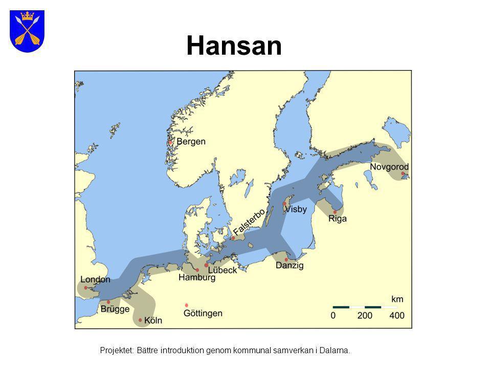 Hansan Projektet: Bättre introduktion genom kommunal samverkan i Dalarna.