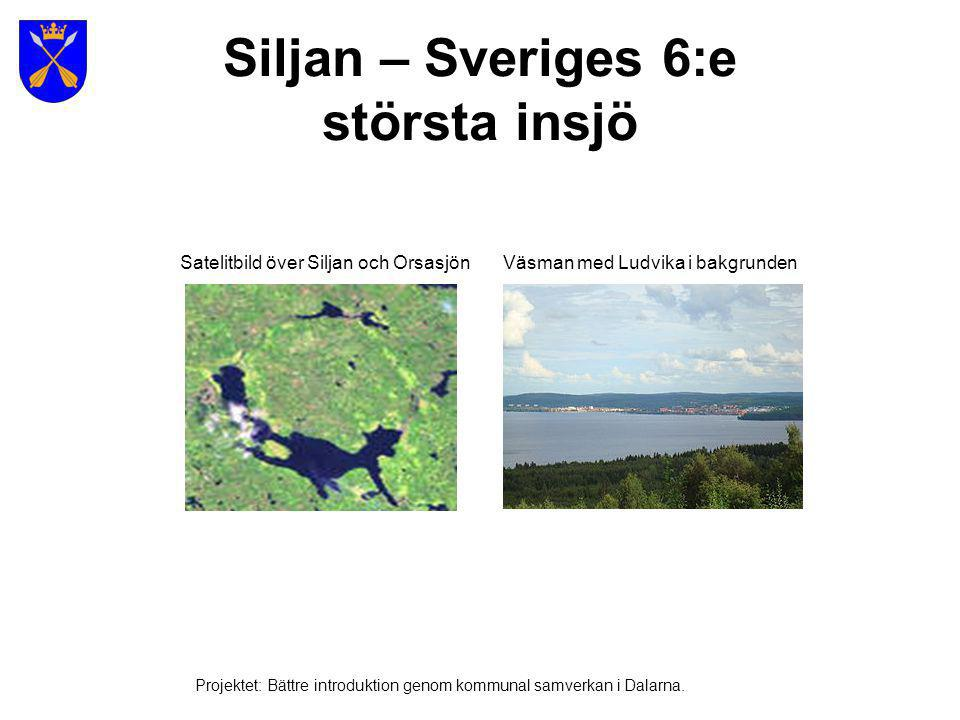 Siljan – Sveriges 6:e största insjö