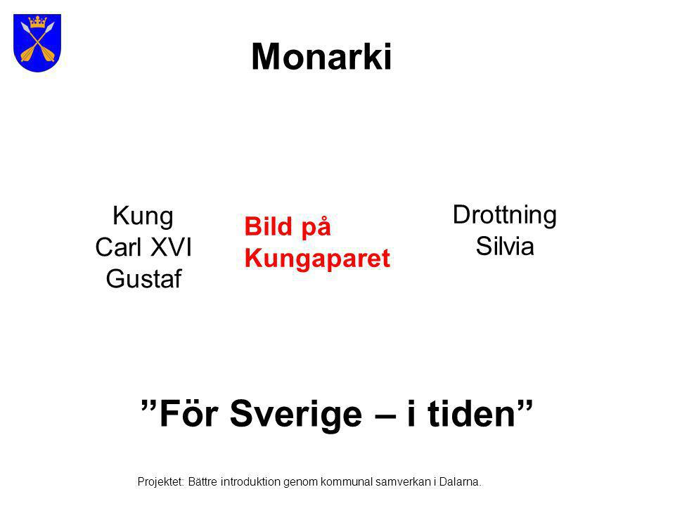 Monarki För Sverige – i tiden