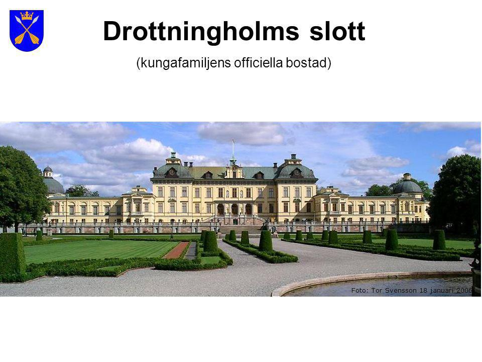 (kungafamiljens officiella bostad)