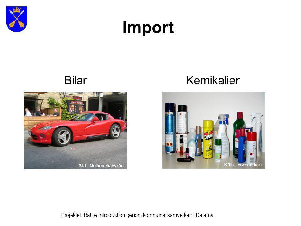 Import Bilar Kemikalier