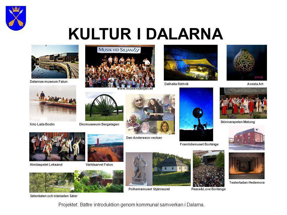 KULTUR I DALARNA Foto: Martin Litens. Dalarnas museum Falun. Dalhalla Rättvik. Avesta Art. www.musikvidsiljan.se.