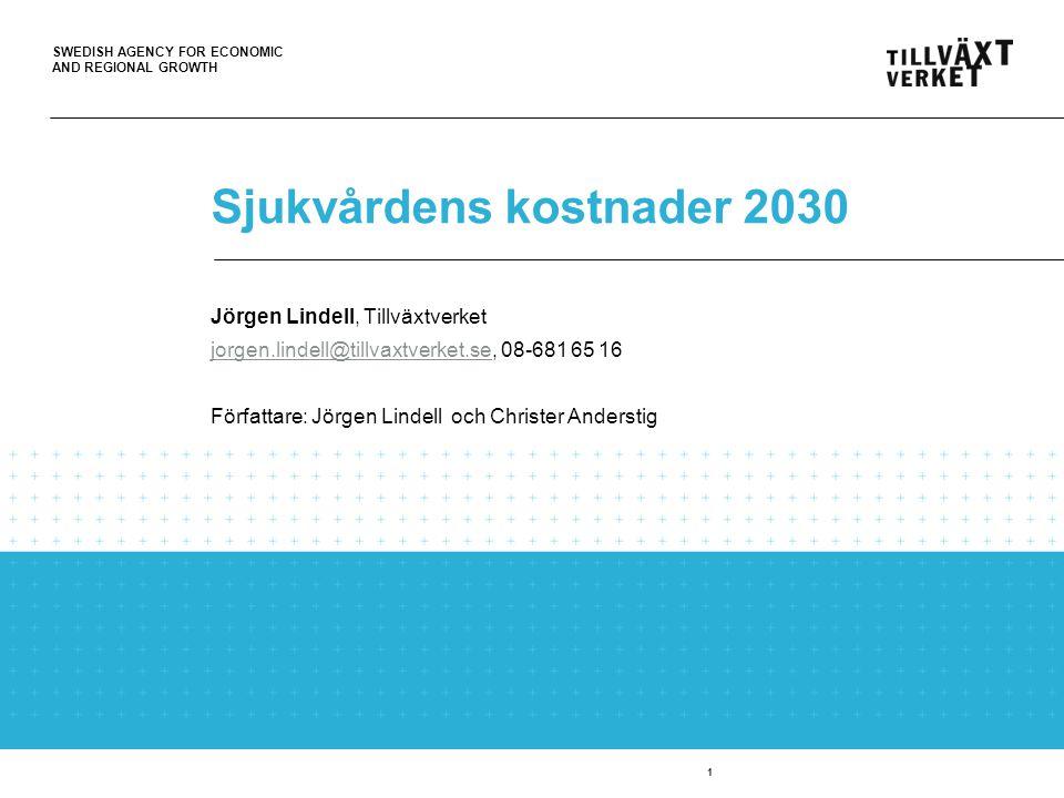 Sjukvårdens kostnader 2030