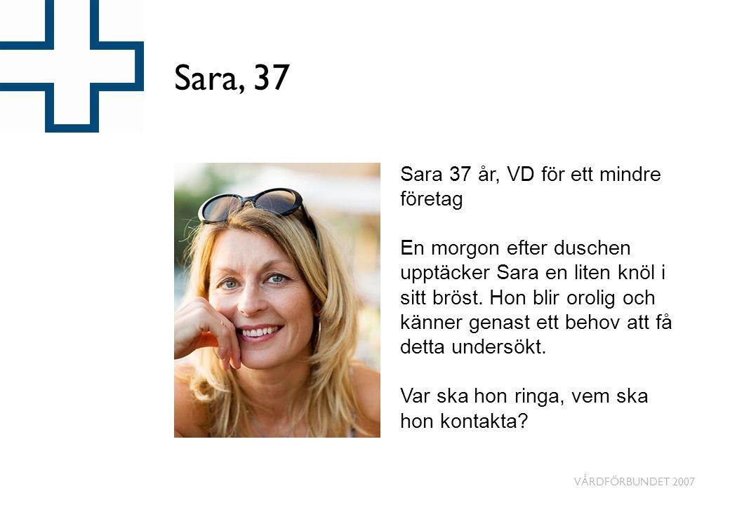 Sara, 37 Sara 37 år, VD för ett mindre företag