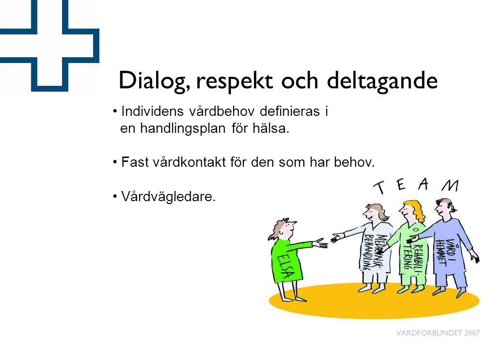 Dialog, respekt och deltagande