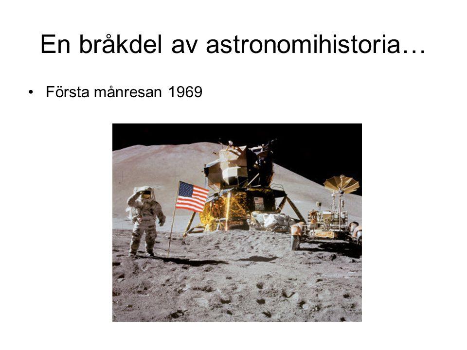 En bråkdel av astronomihistoria…