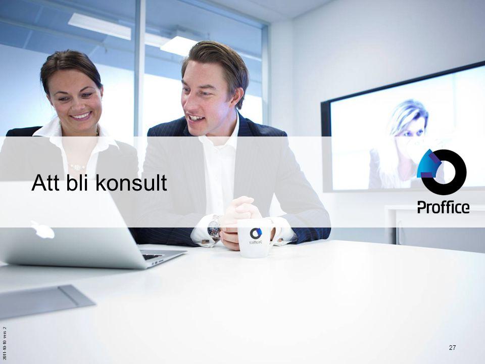 Att bli konsult