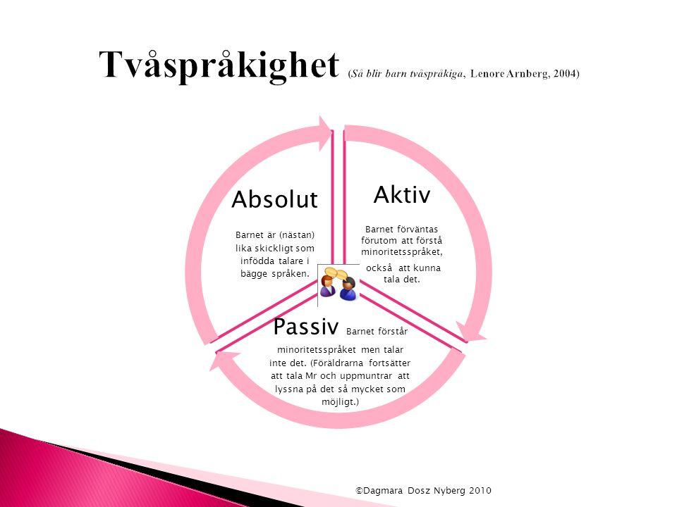 Tvåspråkighet (Så blir barn tvåspråkiga, Lenore Arnberg, 2004)