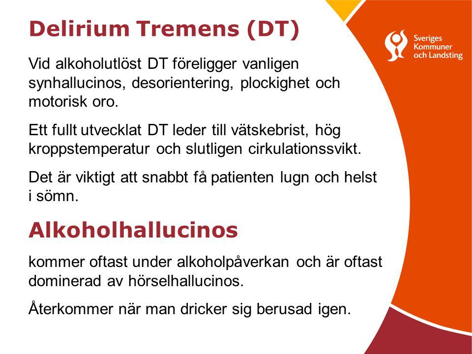 Delirium Tremens (DT) Alkoholhallucinos