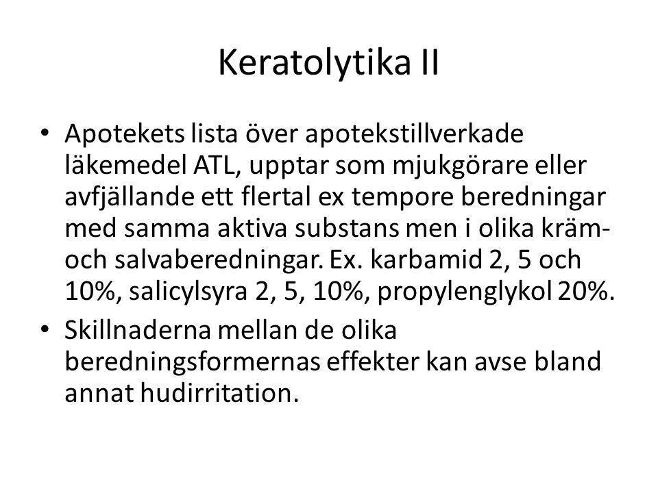 Keratolytika II