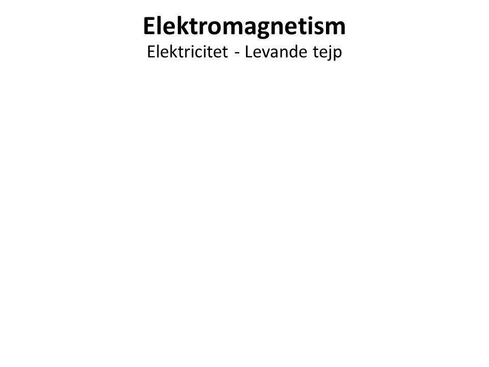 Elektricitet - Levande tejp
