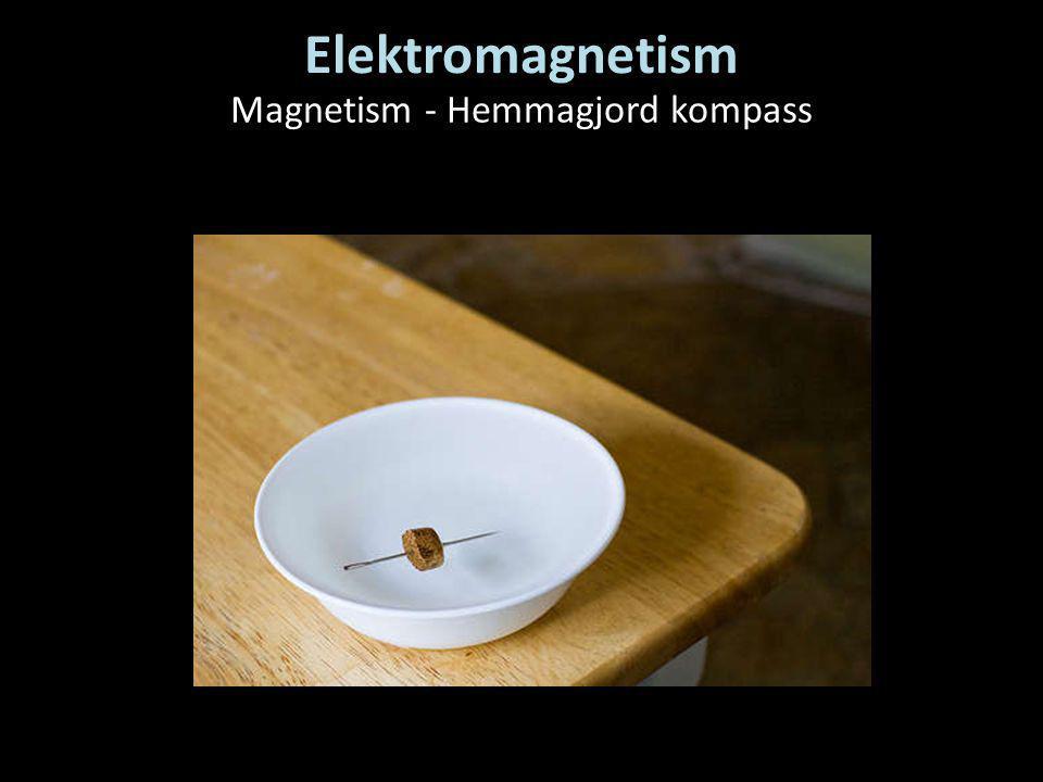 Magnetism - Hemmagjord kompass