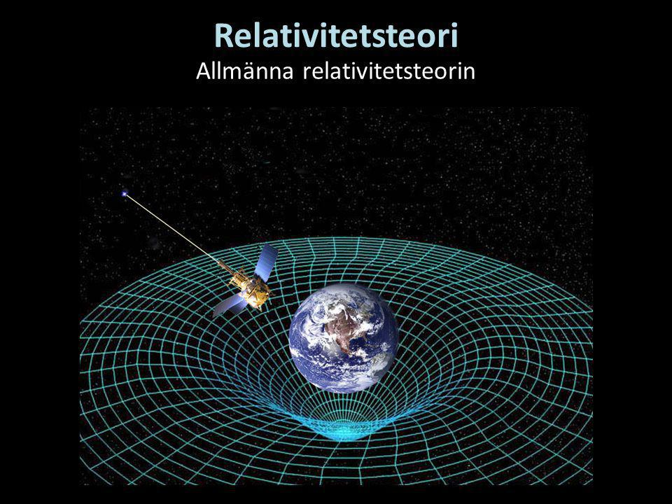 Allmänna relativitetsteorin