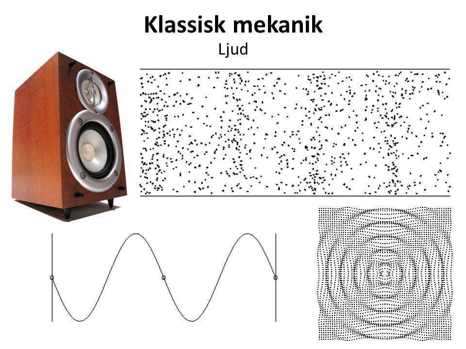Klassisk mekanik Ljud