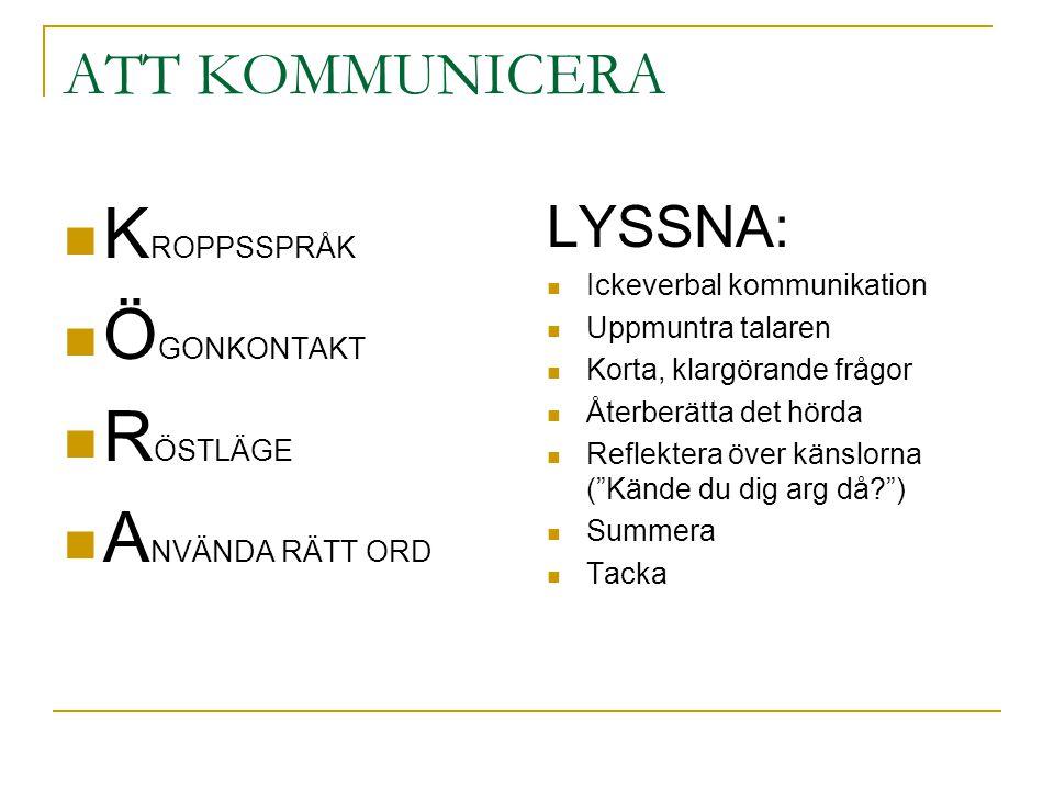 KROPPSSPRÅK ÖGONKONTAKT RÖSTLÄGE ANVÄNDA RÄTT ORD ATT KOMMUNICERA