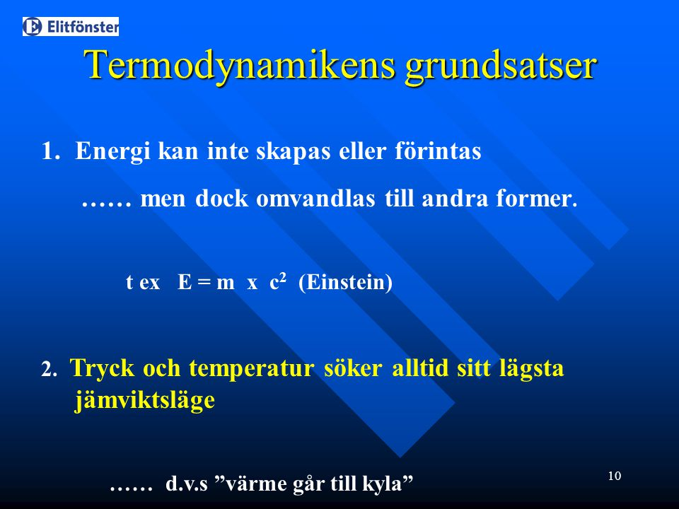 Termodynamikens grundsatser