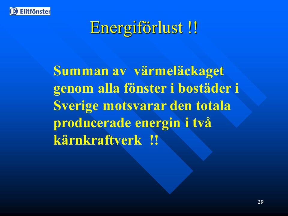Energiförlust !.