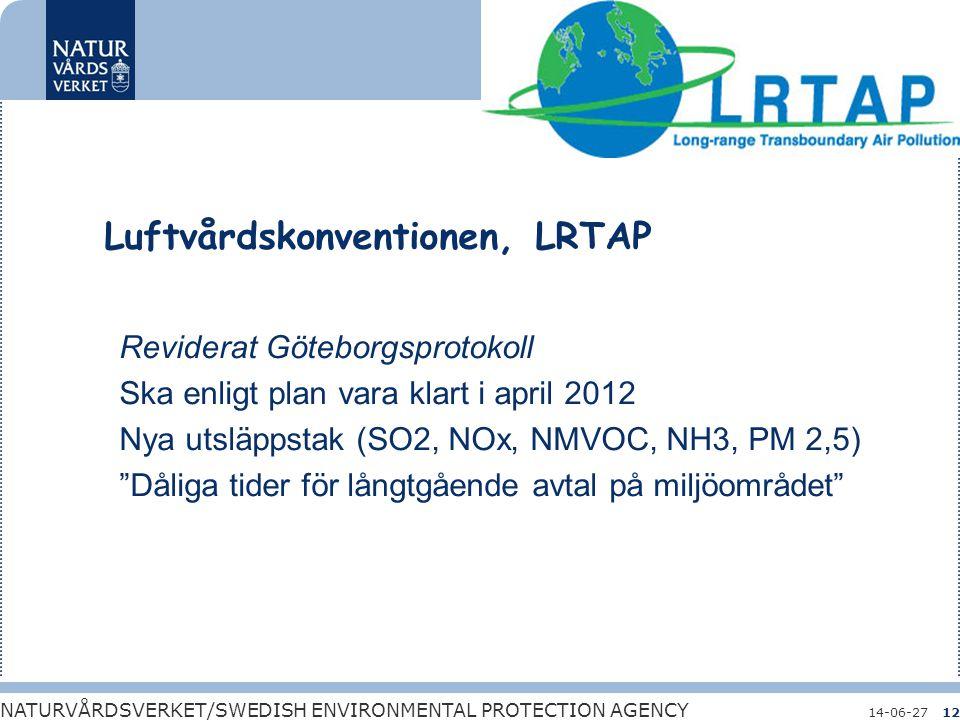 Luftvårdskonventionen, LRTAP