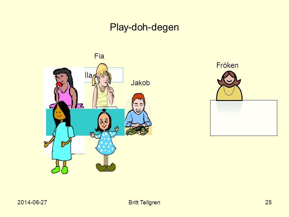 Play-doh-degen Fia Fröken Hylla Jakob Nilla, Linn 2017-04-03