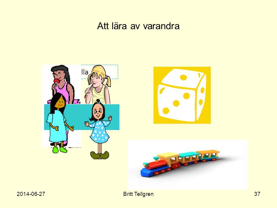 Att lära av varandra Hylla Nilla, Linn 2017-04-03 Britt Tellgren