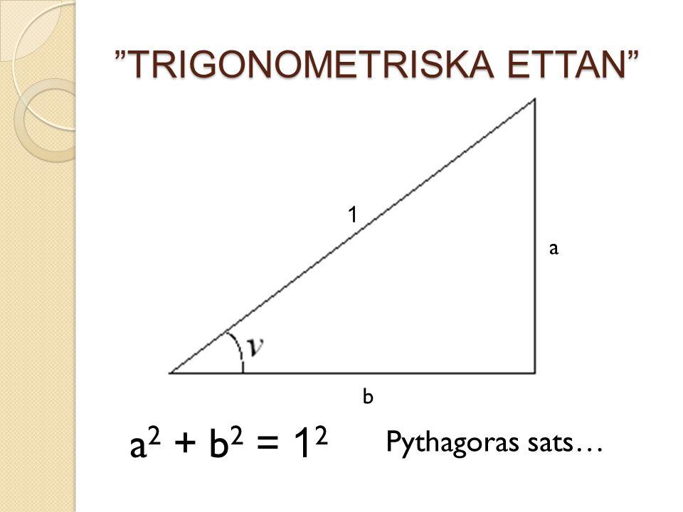 TRIGONOMETRISKA ETTAN