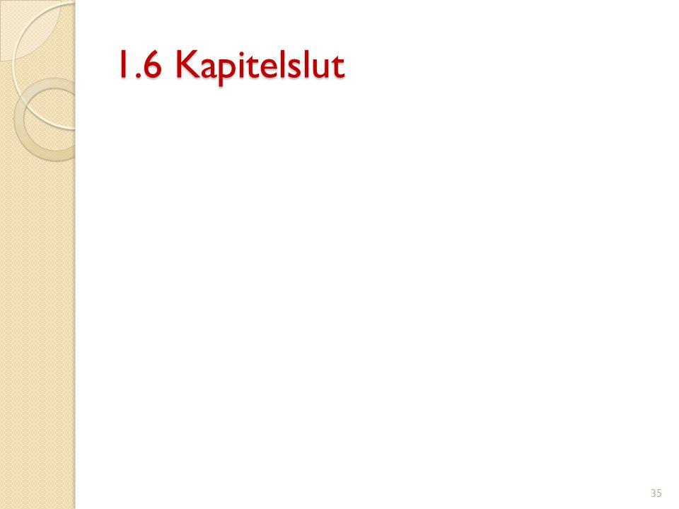 1.6 Kapitelslut
