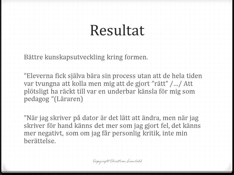 Copyright Christian Lundahl