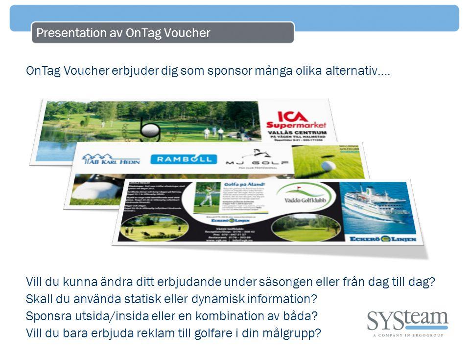 Presentation av OnTag Voucher