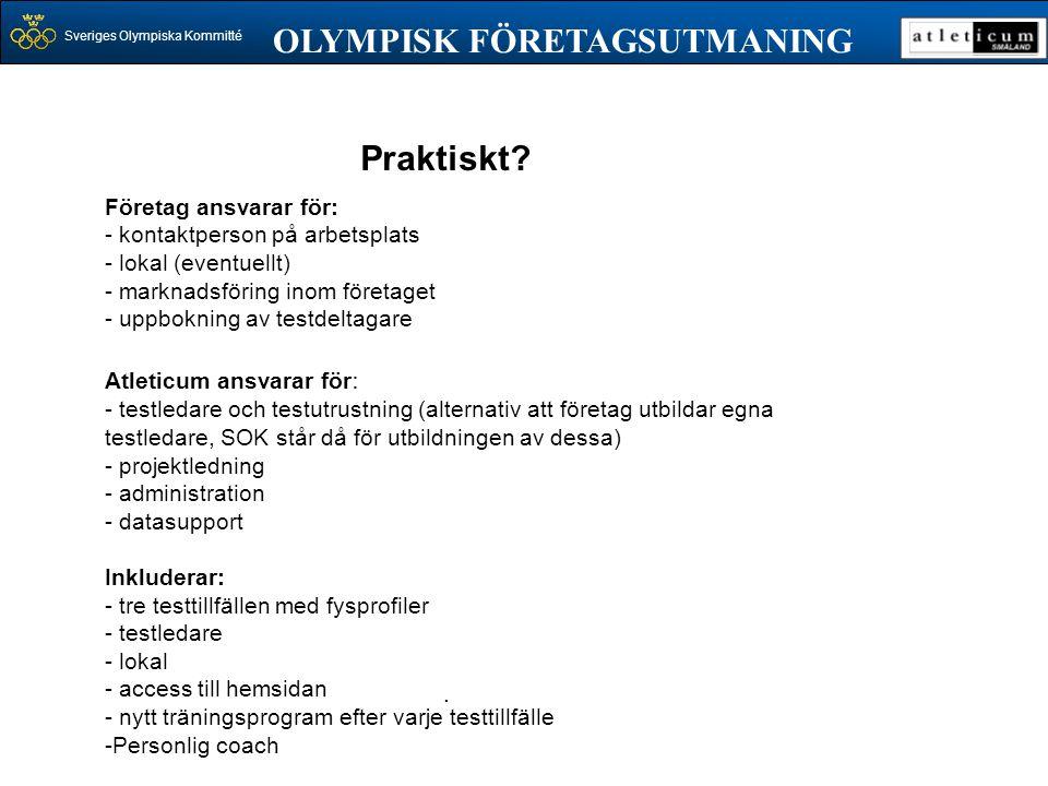 OLYMPISK FÖRETAGSUTMANING
