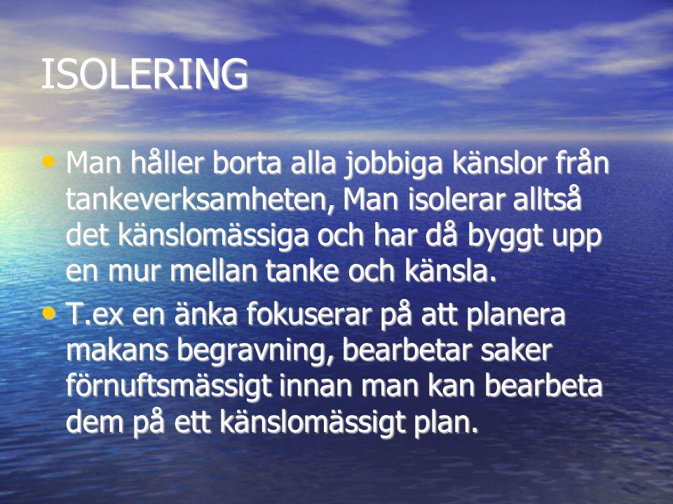 ISOLERING