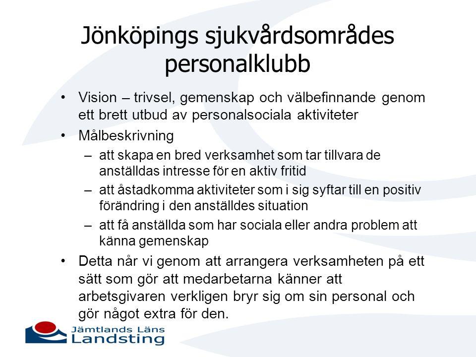 Jönköpings sjukvårdsområdes personalklubb