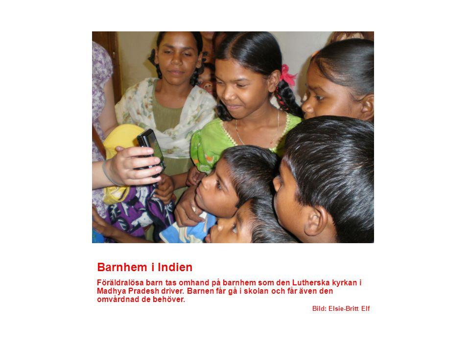 Barnhem i Indien