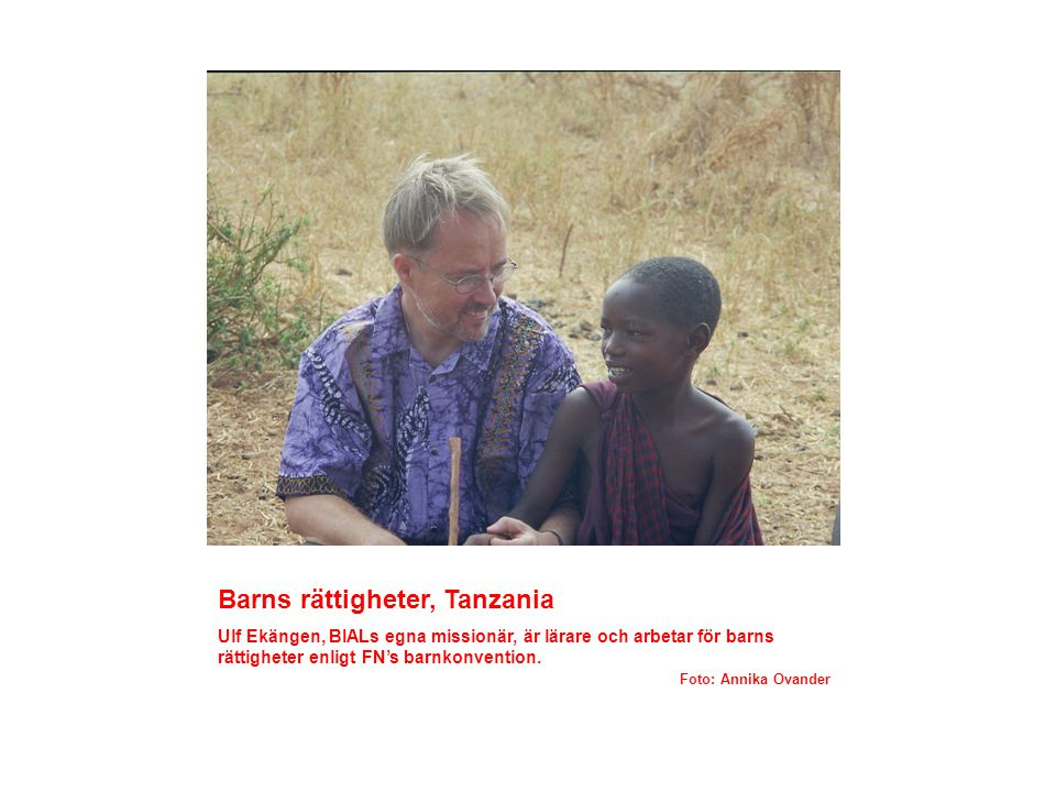 Barns rättigheter, Tanzania