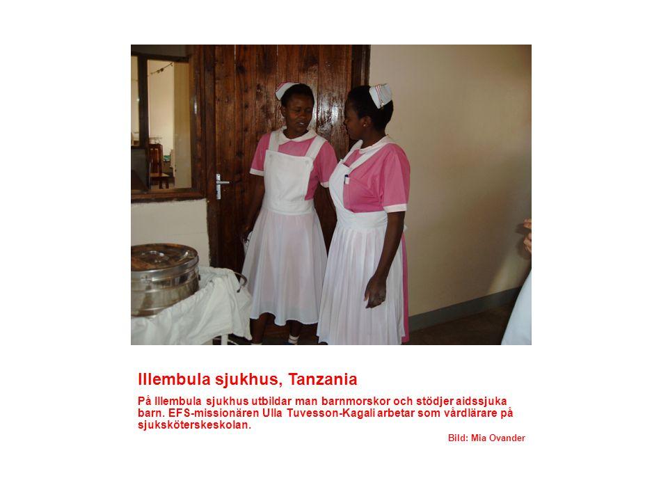 Illembula sjukhus, Tanzania