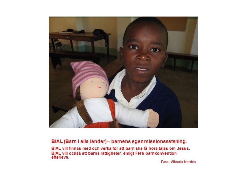 BIAL (Barn i alla länder) – barnens egen missionssatsning.