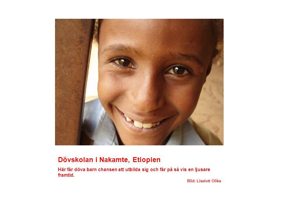 Dövskolan i Nakamte, Etiopien