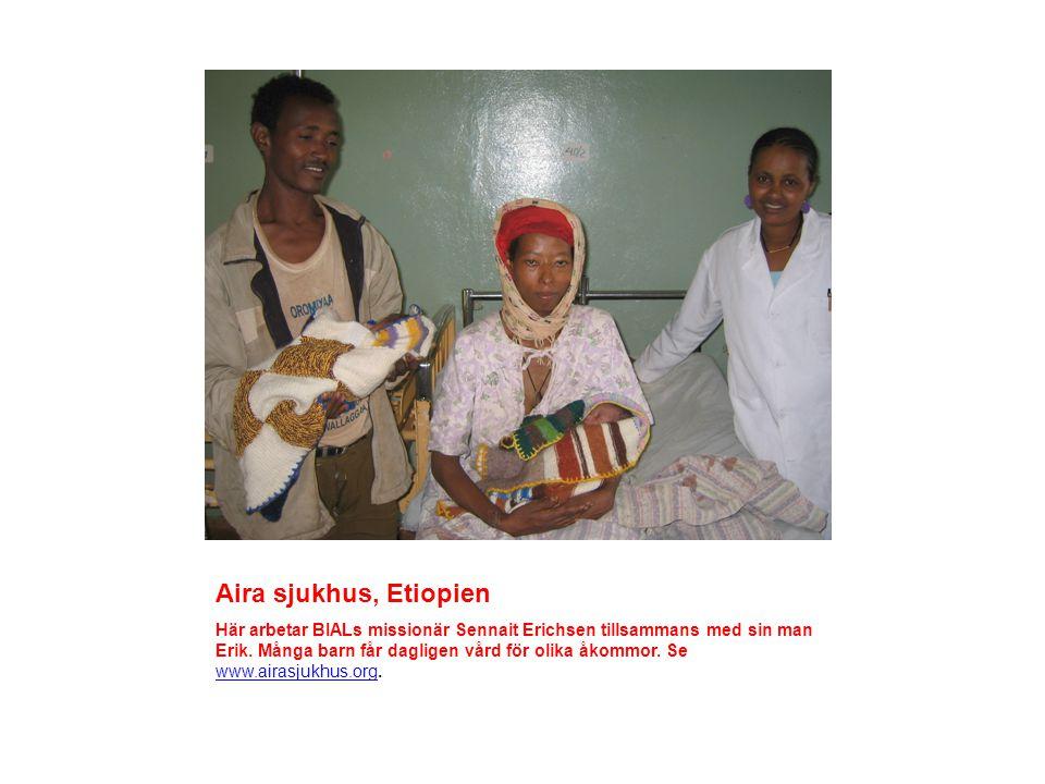 Aira sjukhus, Etiopien