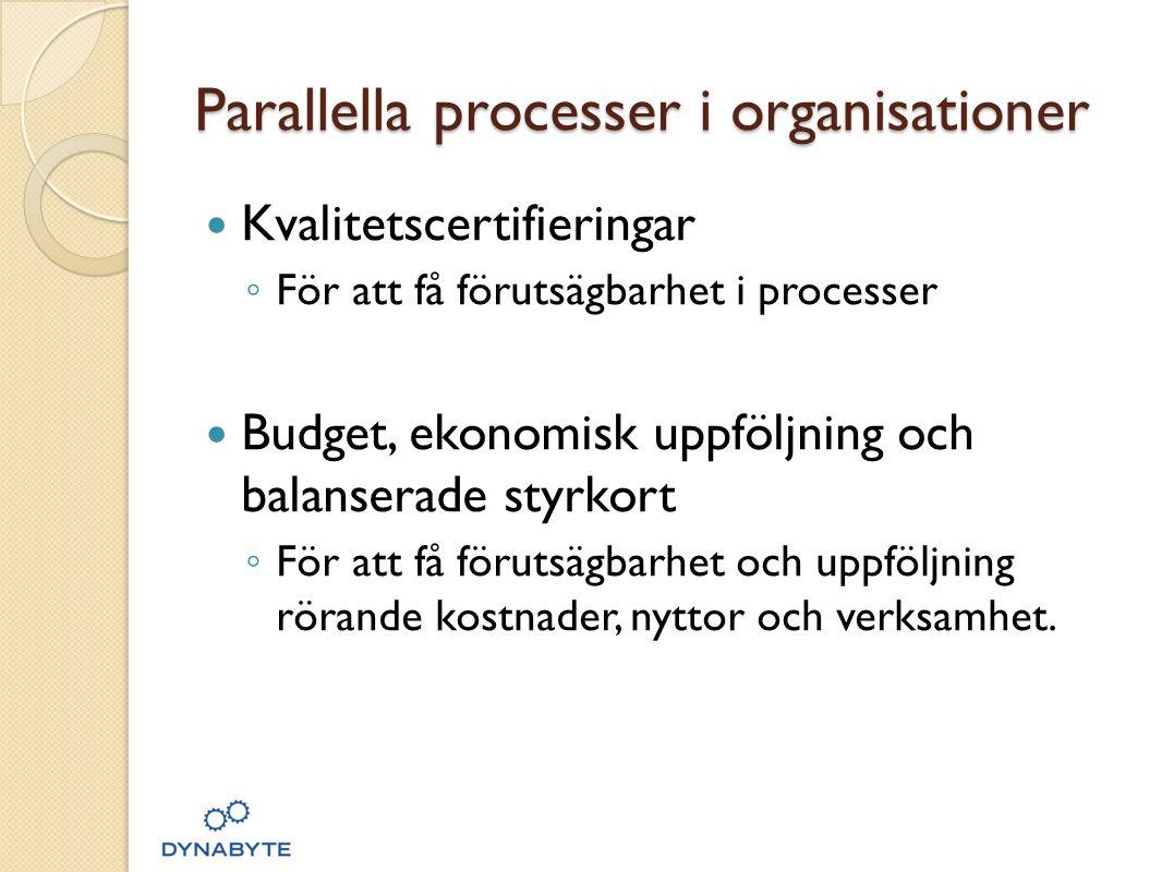 Parallella processer i organisationer