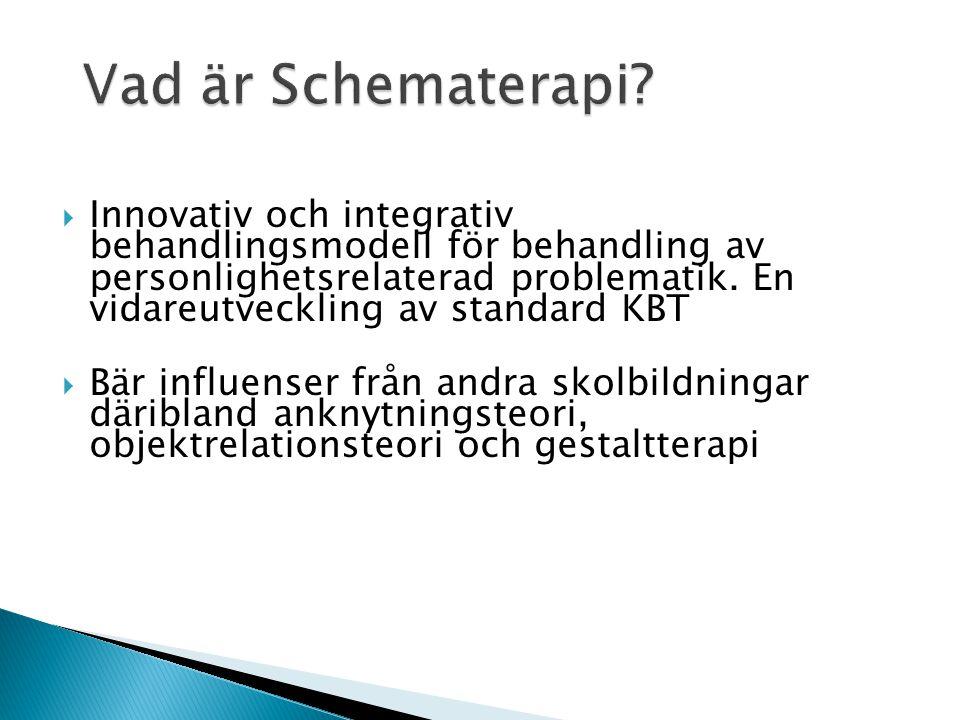 Vad är Schematerapi