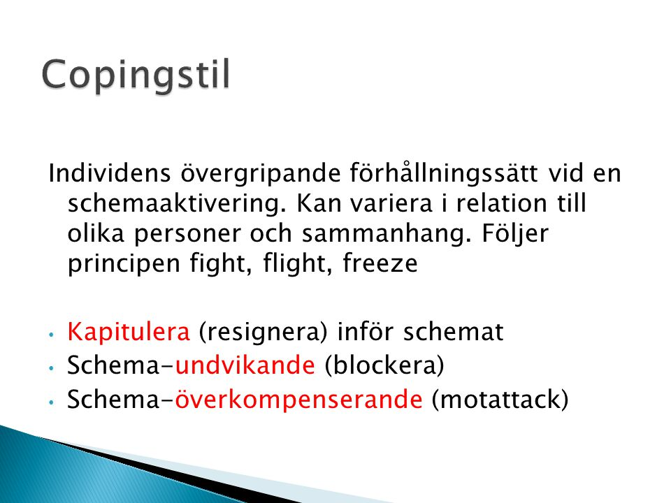Copingstil