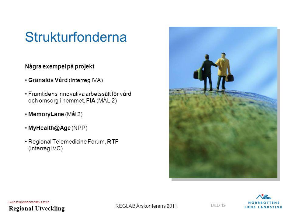 Strukturfonderna Några exempel på projekt Gränslös Vård (Interreg IVA)