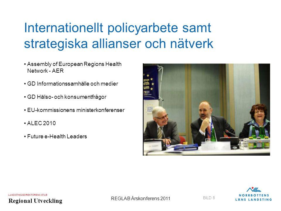 Internationellt policyarbete samt strategiska allianser och nätverk