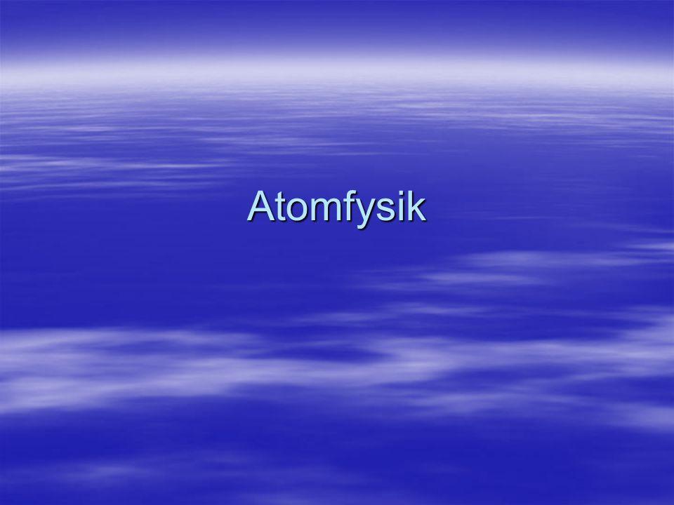 Atomfysik