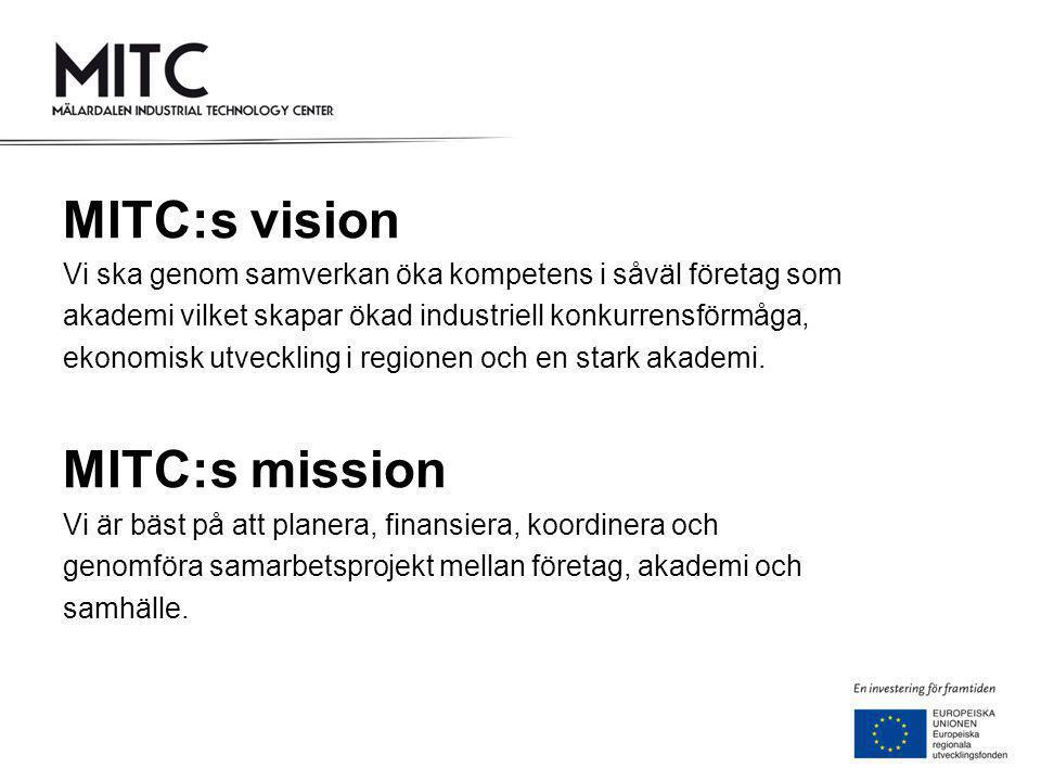 MITC:s vision MITC:s mission