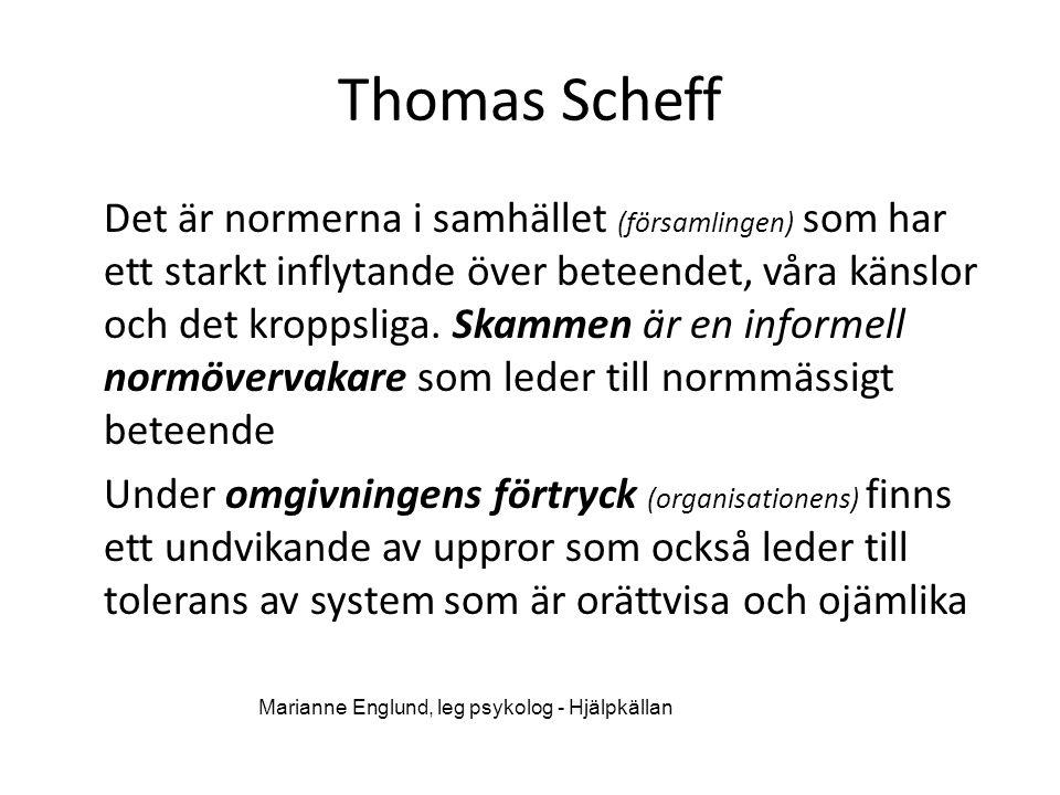 Thomas Scheff