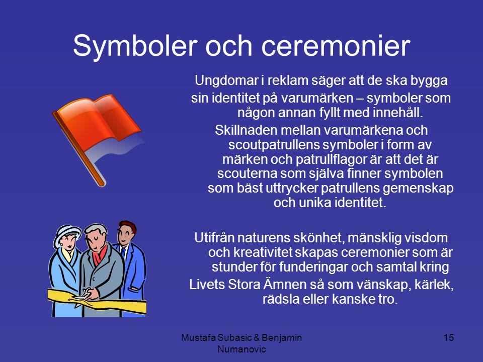 Symboler och ceremonier