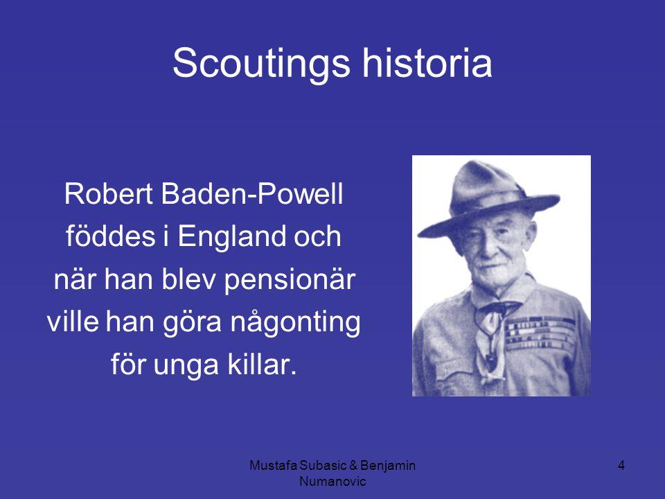 Scoutings historia Robert Baden-Powell föddes i England och