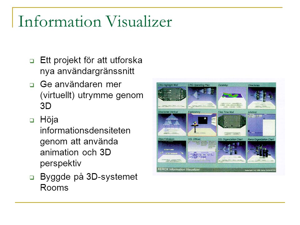 Information Visualizer