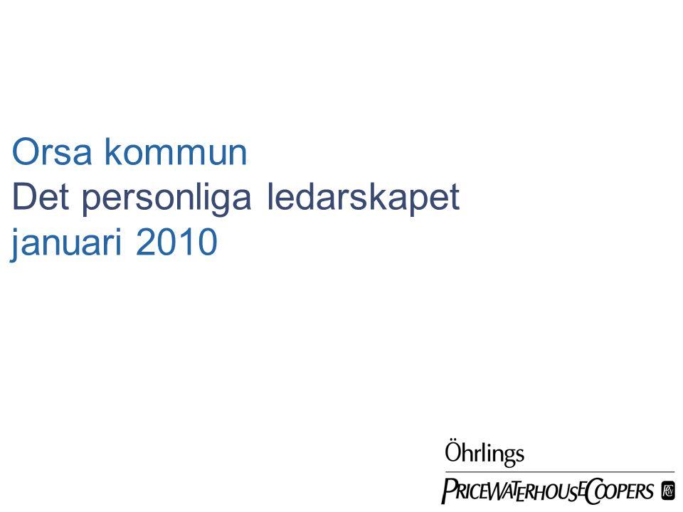 Det personliga ledarskapet januari 2010